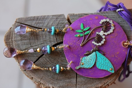 CGualtierotti: Turquoise and Violet