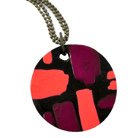 Nail Polish Jewelry Reversible Pendants (Tutorial)