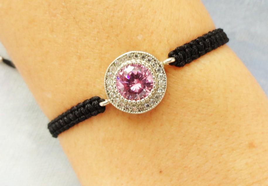 Sapphire Macrame Bracelet