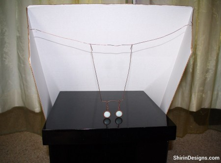 Setup for Photographing Jewelry - Shirin
