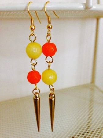 Asymmetrical Earrings by Nidhi Kedia