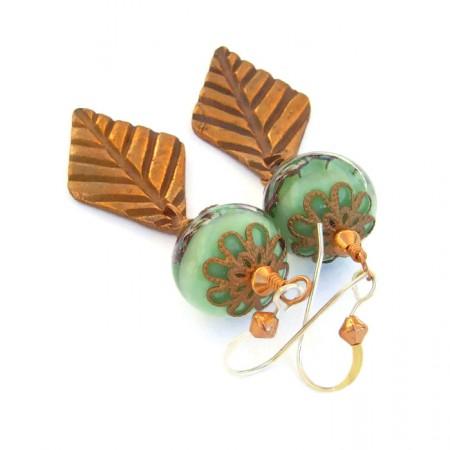 CWaterhouse: Autumn Aria Earrings 2