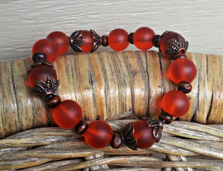 KCoyne: Fall Foliage Stretch Bracelet