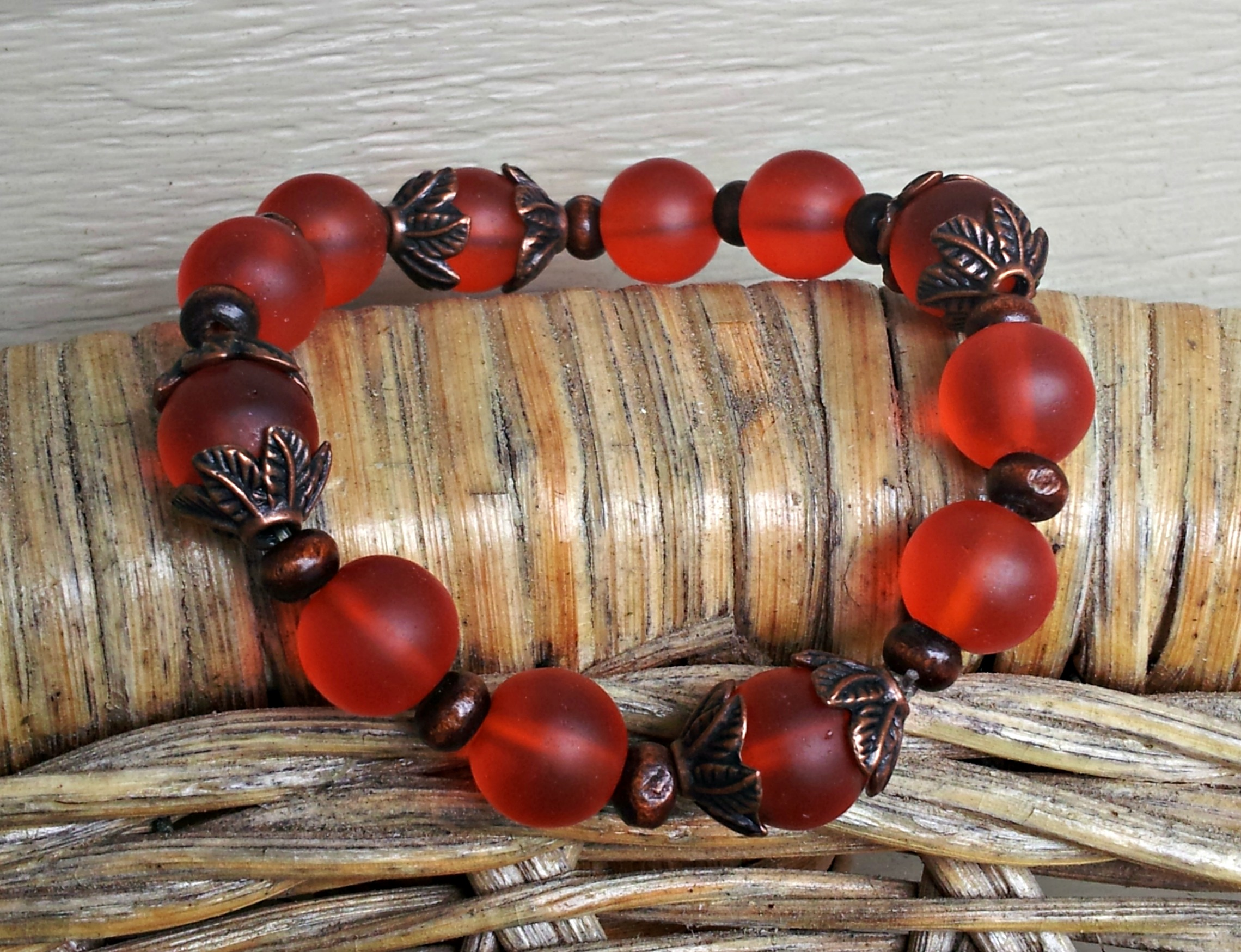 Fall Foliage Stretch Bracelet