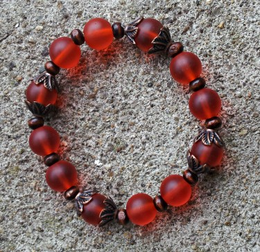 KCoyne: Fall Foliage Stretch Bracelet 2