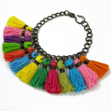 Colorful Tassel Jewelry (Tutorial)