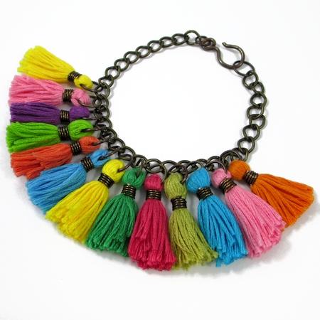 Colorful Tassel Jewelry (Tutorial)