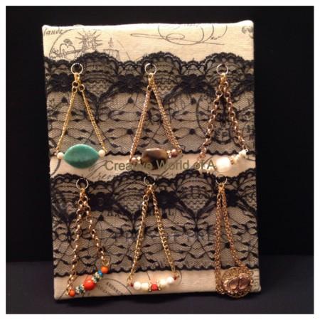 AKahn: Lacey Bracelets Display