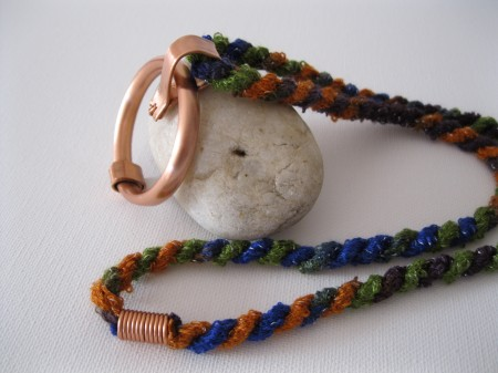 Johal- Copper Circle Necklace 2