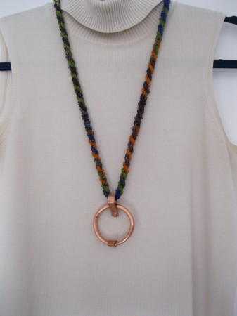 Johal- Copper Circle Necklace 3