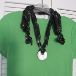 Easy Scarf Necklace (Tutorial)
