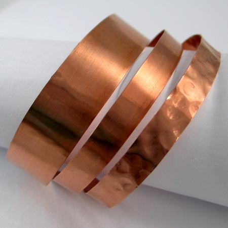 Stacking Copper Bracelets (Tutorial)