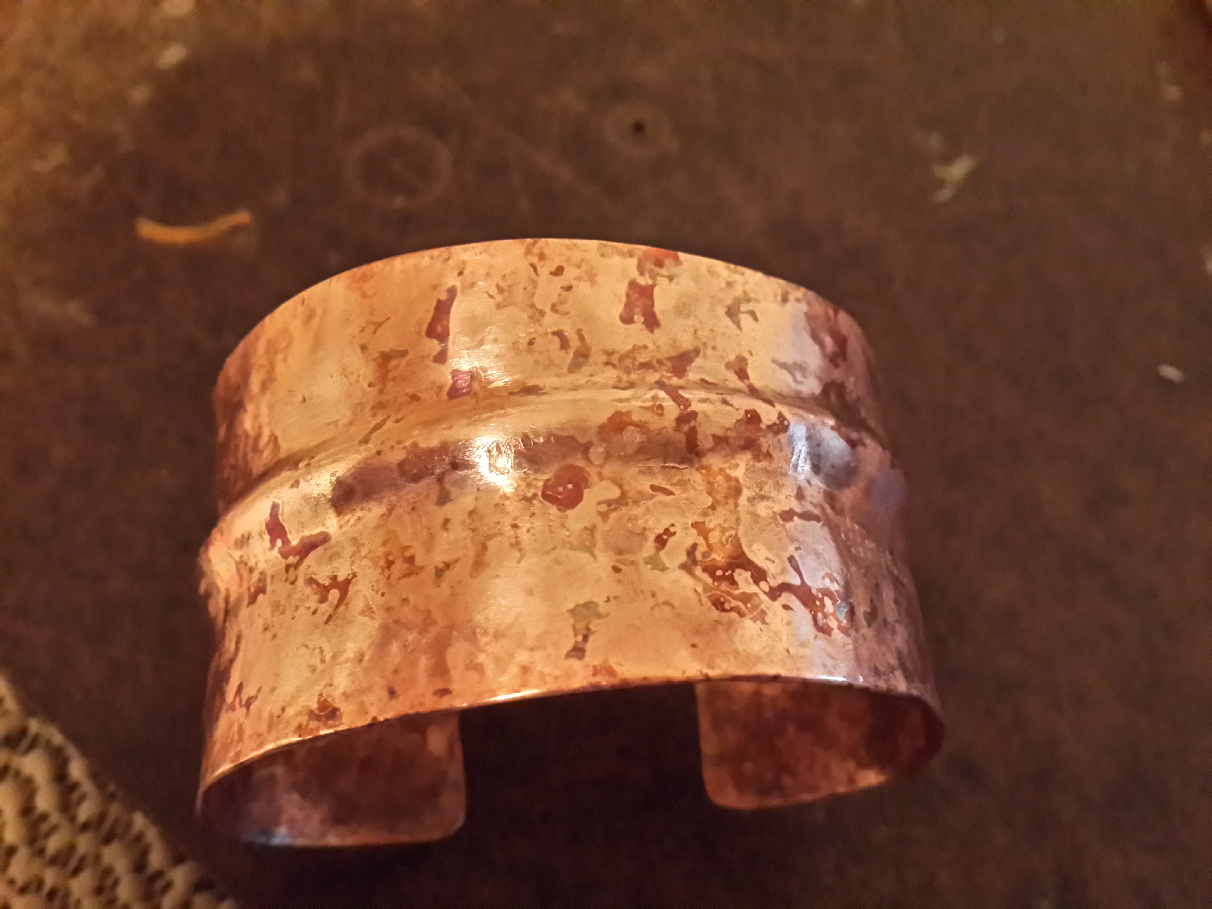 Copper Cuffs and Slides