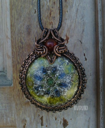 My orgonite pendant jewelry making journal ewijaya my orgonite pendant mozeypictures Images