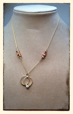 Heirloom Wedding Rings Necklace – Jewelry Making Journal