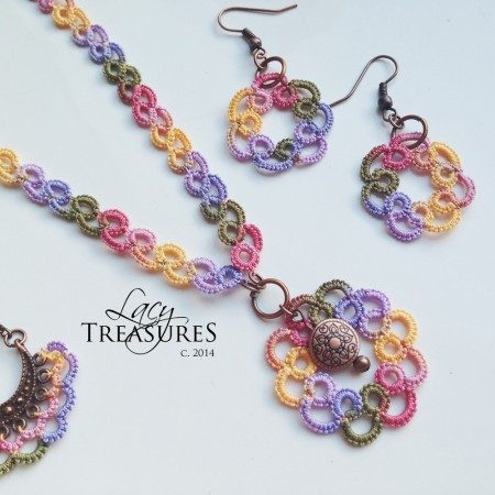 Darlene: Tatted Lace Treasures 1