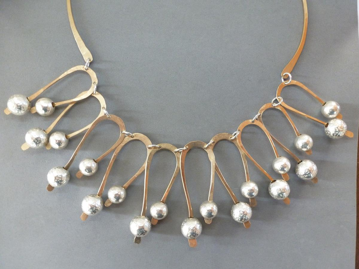 Hairpin Turns Ahead Statement Necklace