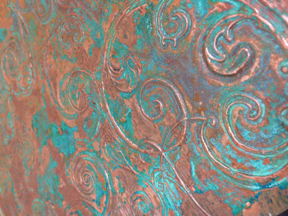 Embossing Copper Sheets