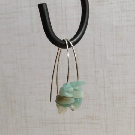 LBarczak: Sea Glass Inspired Dangle Earrings 3