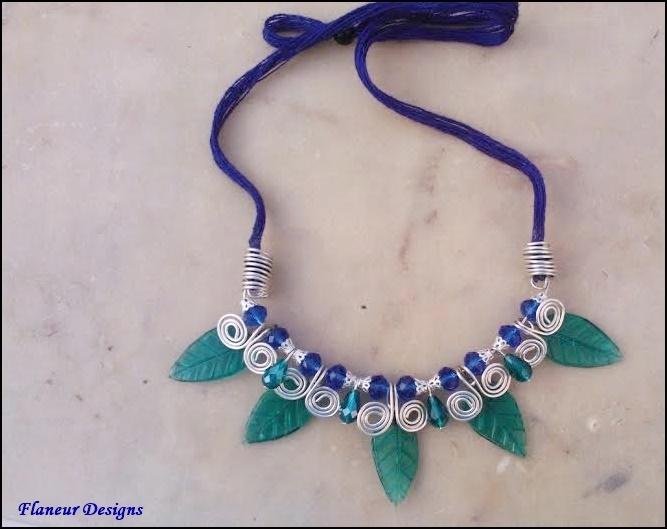 Tribal Jewelry Inspired Neck Piece