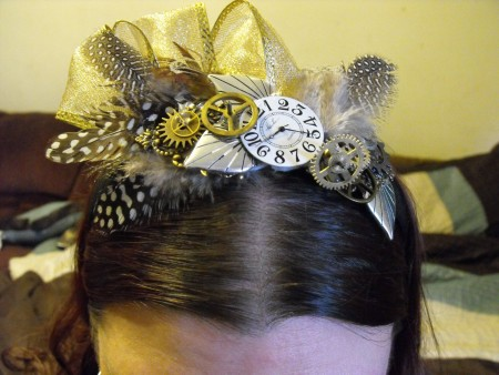 Sylvia: Steampunk Headband 1