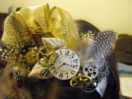Sylvia: Steampunk Headband 2