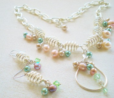 Pastels in Pearls