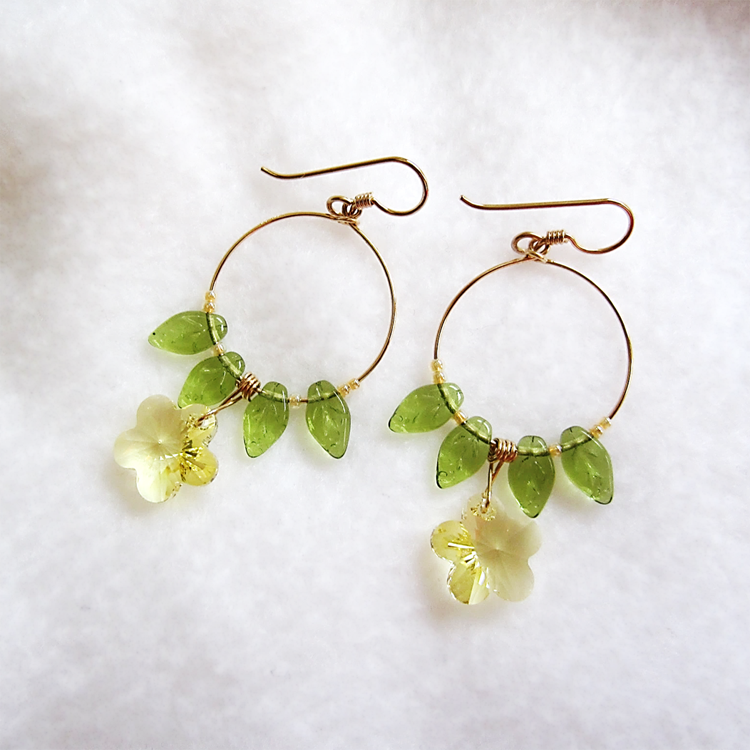 Breath of Spring Earrings