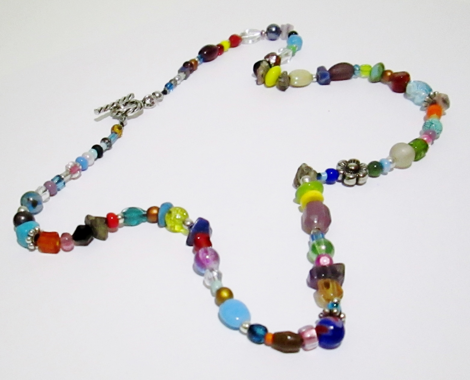 Colorful Necklace for Spring