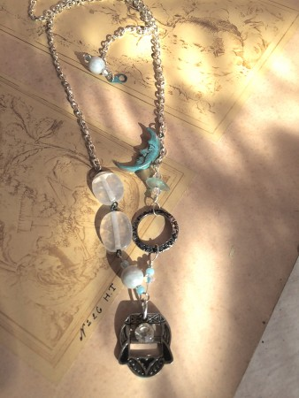 TGriffith: Cool Spring Evening Vintage Necklace 2