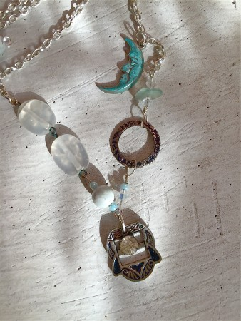 TGriffith: Cool Spring Evening Vintage Necklace 1