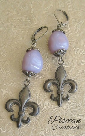 Paris Purple Earring