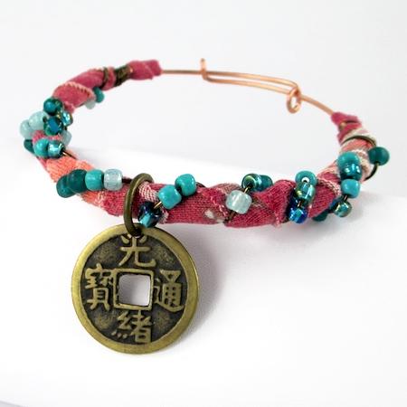 Gypsy Style Adjustable Wire Bracelet (Tutorial)