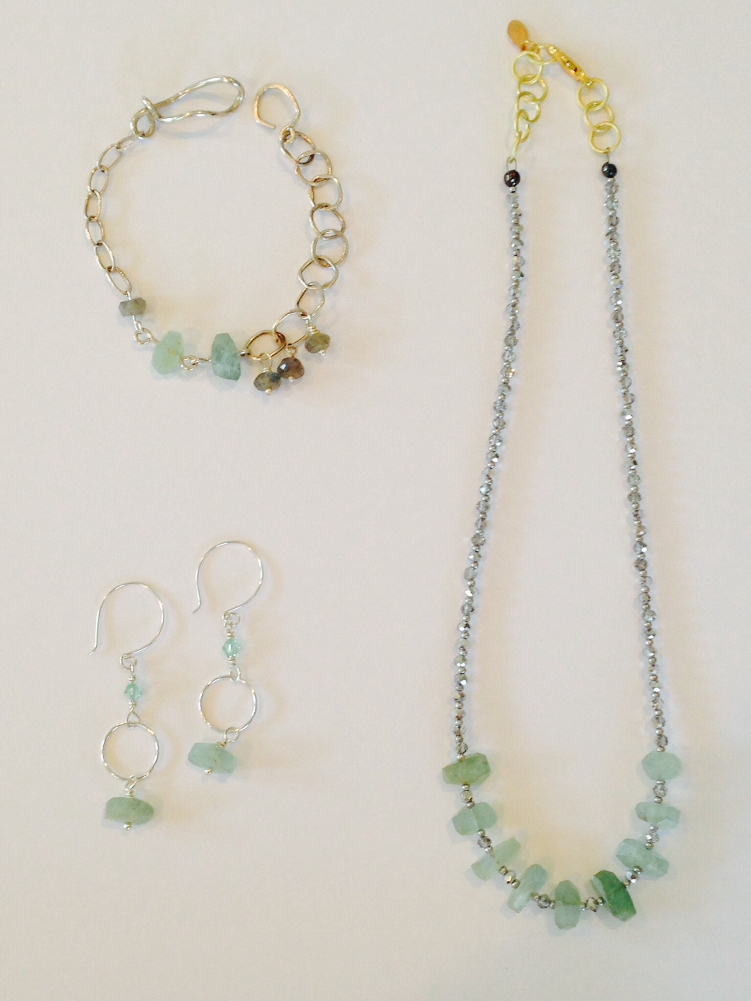 Aquamarine and a Hope for Spring!