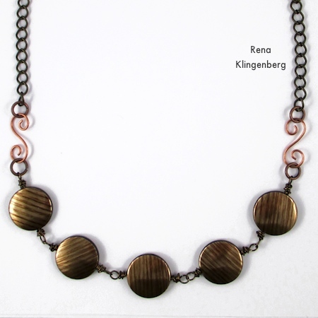 Interchangeable Jewelry - Connect a Choker and Bracelet to Make a Necklace - Tutorial by Rena Klingenberg