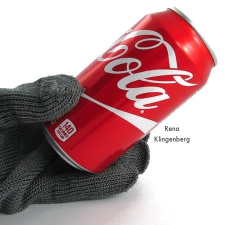 Soda can for Repurposed Aluminum Can Earrings - Tutorial by Rena Klingenberg