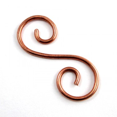 Spiral Wire Hook Clasp (Tutorial)