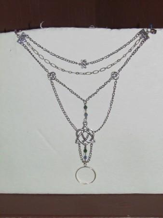 "Bridal ""slave"" bracelet"