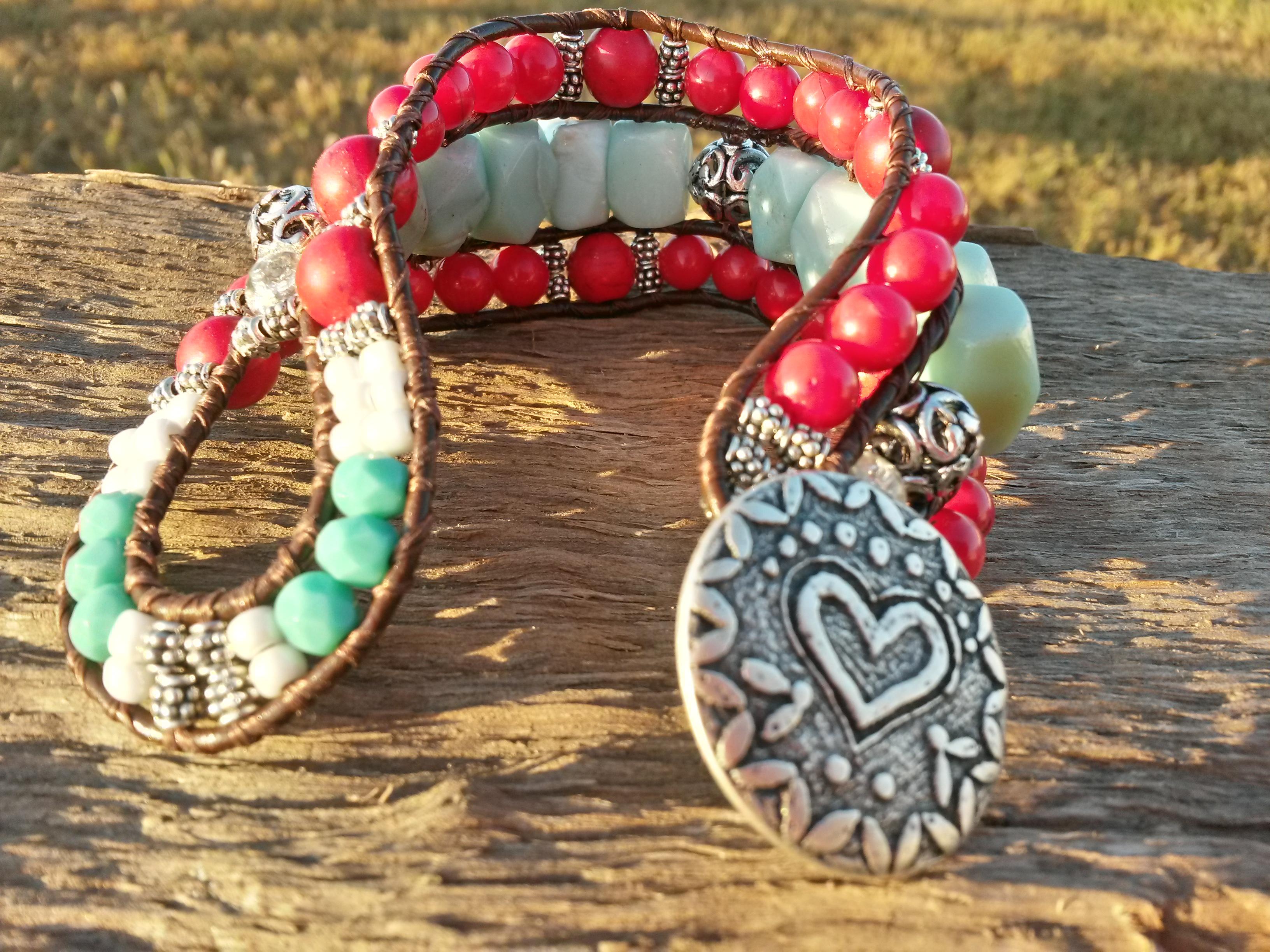 Southwest Love: Beaded Cuff Bracelet