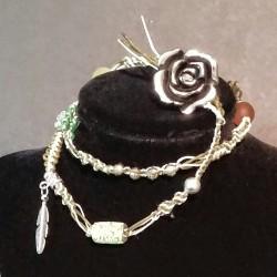 KAcoya: BoHo Macrame Wrap-Around Bracelet