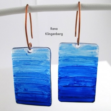 Transparent Ombre Earrings (Tutorial)