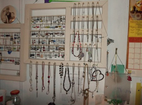 JMcBride: Husband's Handmade Display 1
