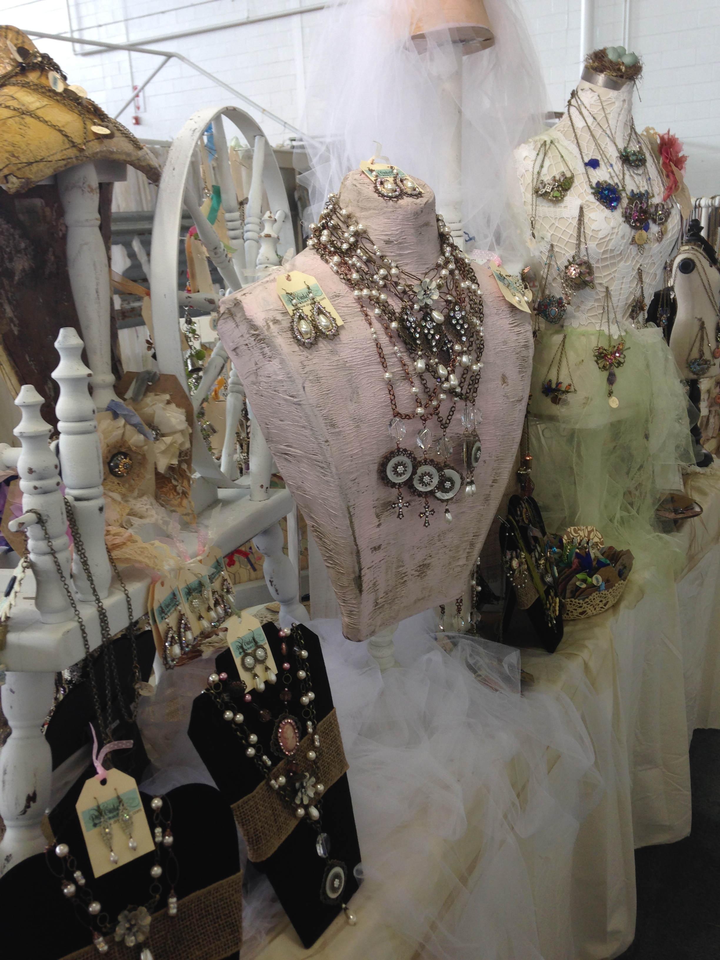 Family Jewelry Business Vintage Display