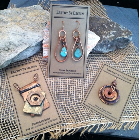 Jewelry Tags for Earrings and Pendants