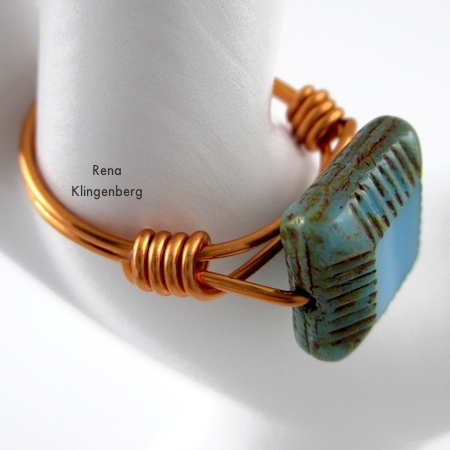 Adjustable Wire-Wrap Bead Ring (Tutorial)