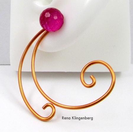 Spiral Wire Earring Jackets (Tutorial)