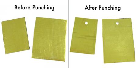 How to Punch Holes in Metal - Tutorial by Rena Klingenberg