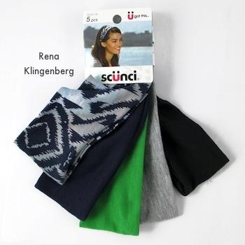 Tiaras largas de tecido para colar elástico sem costura ou tiara dos anos 1920 - Tutorial de Rena Klingenberg