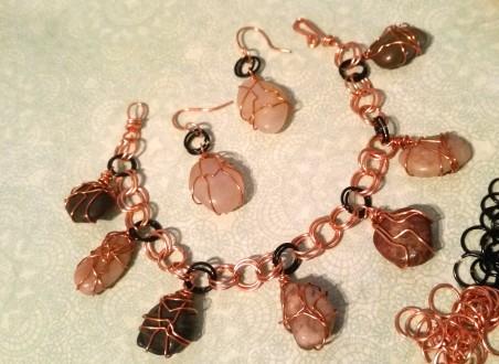 ARivera: River Pebble Charm Bracelet 2