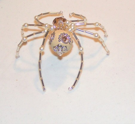DFoltz: Beaded Christmas Spiders 1